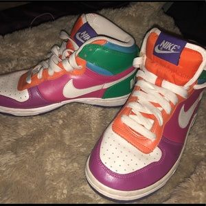 Old high top Nikes